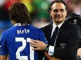 Чезаре Пранделли: «Пирло не намерен завершать карьеру в сборной до ЧМ-2014»