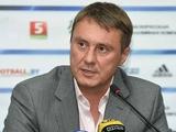 Александр ХАЦКЕВИЧ: «В пять защитников сборная Беларуси играть не будет»