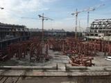 Со стройки стадиона «Зенита» украли экскаватор