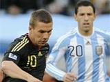 ЧМ-2010. 1/4 финала. Аргентина — Германия — 0:4 (ВИДЕО)