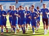 Первая тренировка «Динамо» после отпуска