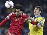 Отбор Евро-2016: сборная Украины уступила Испании и вышла в плей-офф (ФОТО, ВИДЕО)