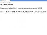 Хакеры взломали сайт федерации футбола Парагвая