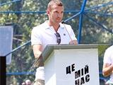 ФОТОрепортаж: Андрей Шевченко на открытии школьной футбольной площадки