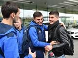 Малиновский присоединился к сборной Украины (ФОТО)