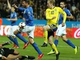 ЧМ-2018, плей-офф: Швеция — Италия — 1:0 (ВИДЕО)