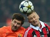 «Милан» — «Барселона» — 2:0. После матча. Аллегри: «Обидно, что не забили третий...»