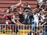 Матч чемпионата Бразилии остановлен из-за беспорядков на стадионе