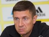 Тренер «Шерифа» Андрей Сосницкий: «Есть опасения насчет психологической выдержки»
