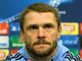 Сергей РЕБРОВ: «Никакой ротации состава не будет!»