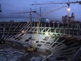 На стройке стадиона «Спартака» выявлено 60 нелегальных рабочих