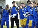 После игры с чехами украинская «молодежка» провела восстановительный день