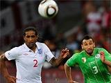 После матча с Алжиром в английскую раздевалку ворвался болельщик