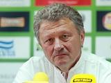 Мирон Маркевич: «Надо уже в первом матче с ПАОК добиться хорошего результата»