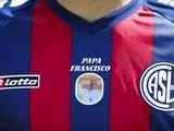 Игроки «Сан-Лоренсо» провели матч в футболках с портретом папы римского