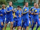 ФОТОрепортаж: открытая тренировка сборной Украины (14 фото)
