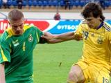 Украина — Литва — 4:0. Отчет о матче