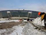 """На """"Донбасс-Арене"""" приостановлены строительные работы"""
