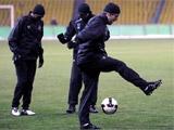 """""""Шахтер"""" провел в Москве первую тренировку"""