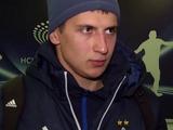 Дмитрий Хльобас: «Все ребята поздравили с голом»