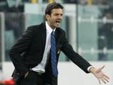 Тренер «Интера» едва не сломал руку во время матча с «Ювентусом»