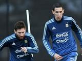 Месси и ди Мария не явились на тренировку сборной Аргентины