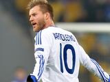 Андрей Ярмоленко попал в символическую сборную группового этапа Лиги Европы