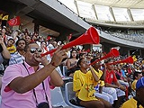 Глава оргкомитета ЧМ-2010: «Вувузелы создают проблемы на стадионе»