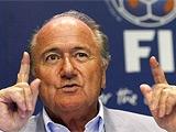 Йозеф Блаттер: «Если у ФИФА появится возможность точно определять взятие ворот, то это пойдет на пользу футболу»