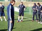 Нинкович и Бангура тренируются индивидуально