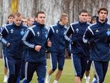 ФОТОрепортаж: открытая тренировка «Динамо» накануне матча с «Генгамом» (20 фото)