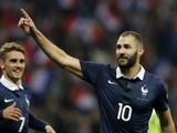 Дешам не вызвал Бензема в сборную Франции на июньские матчи