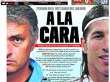 Marca опубликовала содержание перепалки между Моуринью и Рамосом