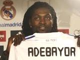 Официально. «Реал» возвратит Адебайора в «Манчестер Сити»