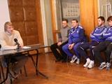 Официально. Игрокам «Динамо-2» представлен новый тренер (ВИДЕО)