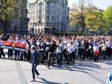 Перед матчем «Днепра» и «Динамо» фанаты команд проведут совместный марш