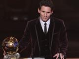 «Золотой мяч ФИФА» снова вручен Месси