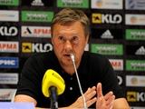 «Ворскла» – «Динамо» – 0:0. Послематчевая пресс-конференция
