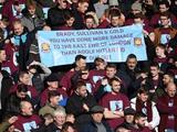 Фанаты «Вест Хэма» вывесили баннер против руководства, упомянув имя Гитлера (ФОТО)