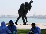 Памятник Зидану и Матерацци вынуждены снести