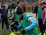 ФОТОрепортаж: тренировка сборной Украины в Минске (30 фото)