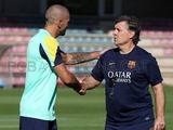 Херардо Мартино: «Барселона посвящает победу Вальдесу»