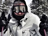 Милевский научился кататься на лыжах