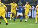 Руслан Малиновский — лучший игрок матча Италия — Украина