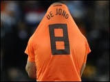 Де Йонг задумывается о завершении карьеры в сборной Голландии
