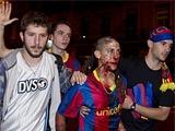 89 человек пострадали в Барселоне во время празднования победы в Лиге чемпионов