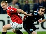 «Марсель» — «Манчестер Юнайтед» — 0:0. После матча. Фергюсон: «Игра меня разочаровала»