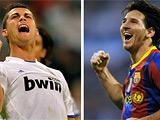 Месси и Роналду устроили «зарубу» в споре бомбардиров чемпионата Испании