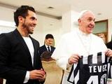 Папа Римский принял Тевеса