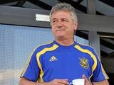 Официально. Изменения в тренерском штабе сборной Украины